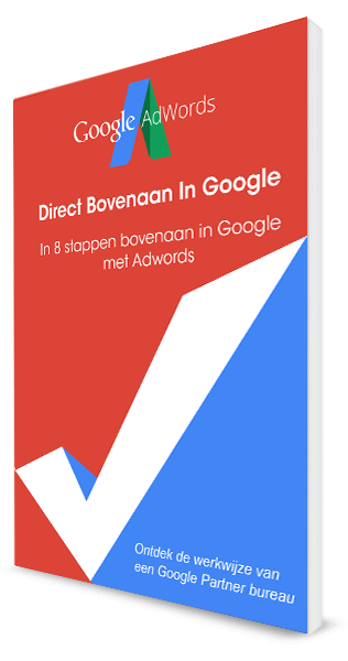 Bovenaan in Google met Adwords