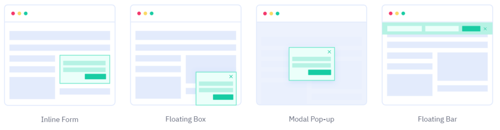 subscription forms marketing automation